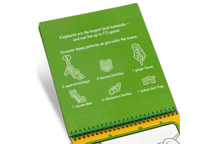Melissa and Doug On The Go Water Wow! Jungle Water Reveal Pad