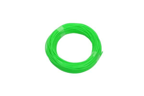 340M Pla Filament 1.75Mm For 3D Printer Pen Modeling Draw Round - Green