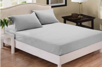 Park Avenue 1000 Thread Count Cotton Blend Combo Set (Silver)