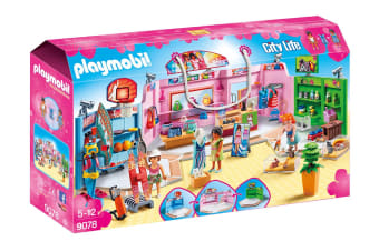 Playmobil City Life  Shopping Plaza