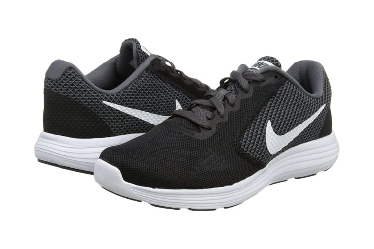 Nike Women's Revolution 3 Running Shoe (Black/Dark Grey/Anthracite, Size 5.5 US)