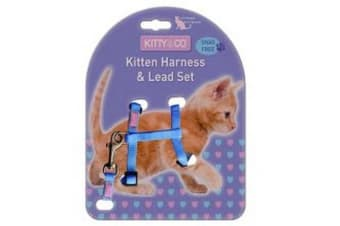 Hem & Boo Snag Free Kitten Harness (May Vary) (One Size)