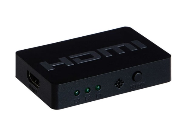3x1 HDMI Switch with Remote Control