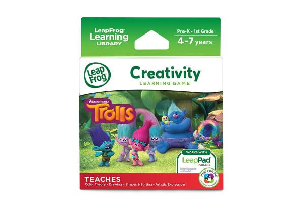 LeapPad Learning Trolls: Creativity Game