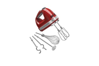 KitchenAid Artisan 9 Speed Hand Mixer Empire Red
