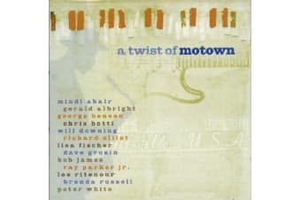 Various  - A Twist Of Motown BRAND NEW SEALED MUSIC ALBUM CD - AU STOCK
