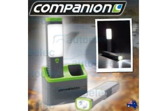 COMPANION SMD LED RECHARGABLE CORDLESS INSPECTION WORKLIGHTS LAMP TORCH COMP057
