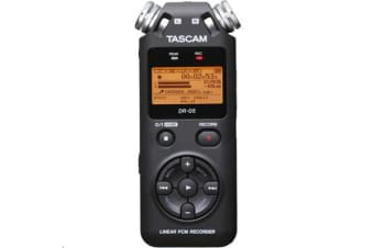 TASCAM DR-05 Portable handheld Digital Audio Recorder Kit