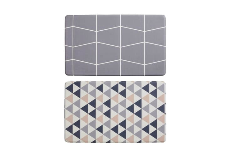 Davis & Waddell Reversible Anti Fatigue Mat - Triangle / Grid