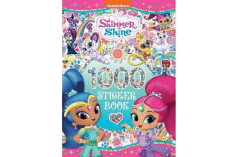 Shimmer and Shine 1000 Sticker Book