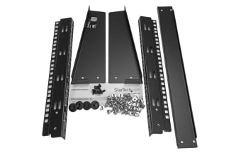 StarTech.com 8U Desktop Rack - 2-Post Open Frame Rack