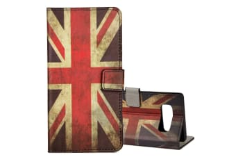 For Samsung Galaxy Note 8 Wallet Case UK Flag Stylish Leather Protective Cover