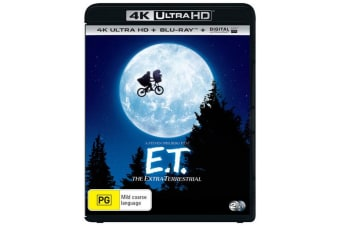 ET The Extra Terrestrial 4K Ultra HD Blu-ray Digital Download UHD Region B