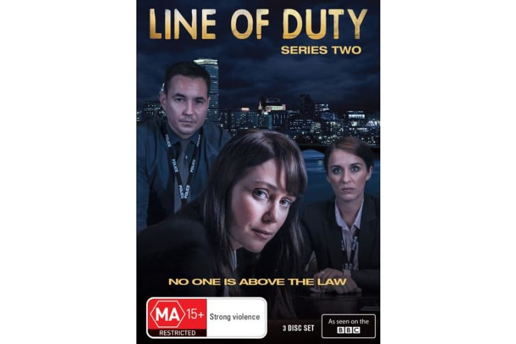 Line of Duty Series 2 Box Set DVD Region 4