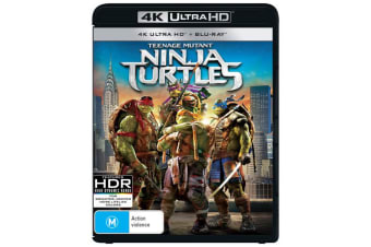 Teenage Mutant Ninja Turtles 4K Ultra HD Blu-ray UHD Region B
