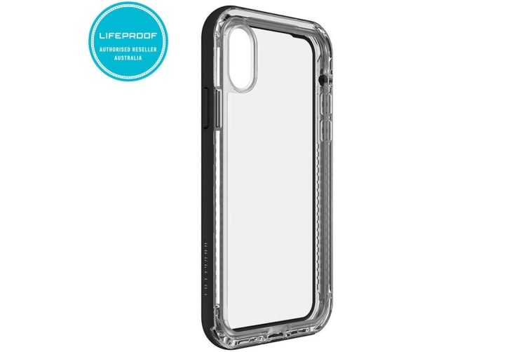 cheap for discount 758da ec0ad Lifeproof Next Black/Clear Case for iPhone X