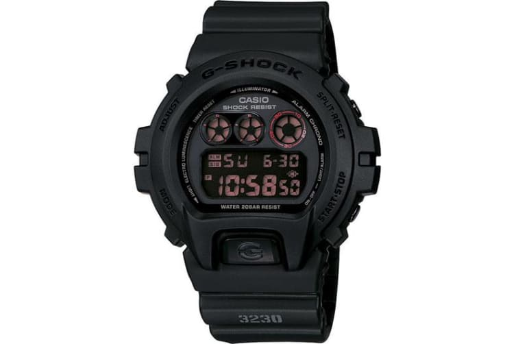 Casio G-Shock Digital Mens Black Military Inspired Watch DW-6900MS-1