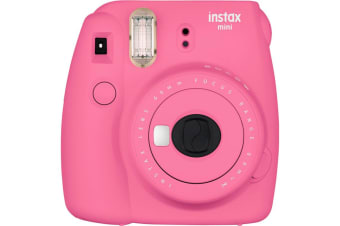 FujiFilm Instax Mini 9 Instant Camera Flamingo Pink Limited Gift Edition Pack