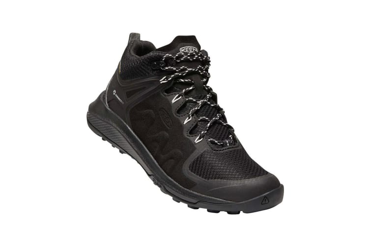 Keen Explore Mid WP Womens Black Star White - 8