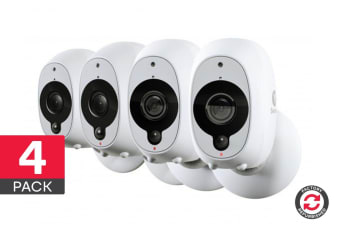 Refurbished Swann Smart Security Wireless 1080p Battery Camera with True Detect - 4 Pack (SWWHD-INTCAMPK4)