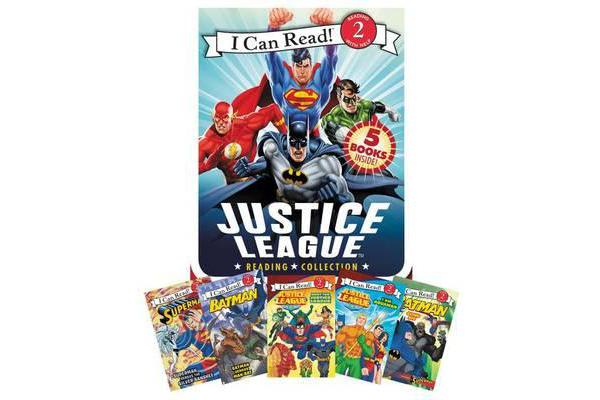 Image of Justice League Reading Collection - 5 I Can Read Books Inside!