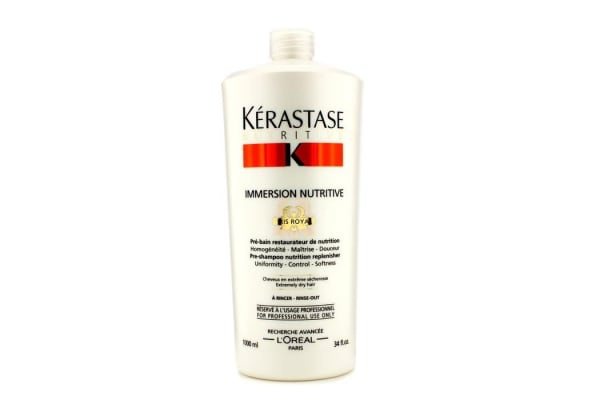 Kerastase Nutritive Immersion Nutritive Pre-Shampoo Nutrition Replenisher (For Extremely Dry Hair) (1000ml/34oz)