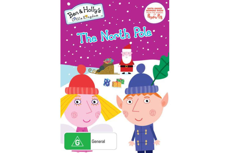 Ben and Hollys Little Kingdom The North Pole DVD Region 4