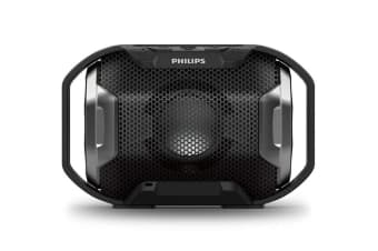 Philips ShoqBox Water/Shockproof Bluetooth Speaker (SB300B)