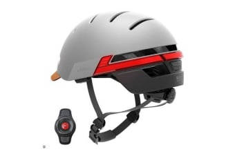 LIVALL BH51T Sandstone Grey Urban Cycle Road Bike scooter Helmet with Remote Control and 270 Degree