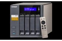 QNAP TS-453A 4 Bay NAS Server, 4GB RAM, Cel-QC 1.6Ghz, 4x GbE, 2Yr Wty