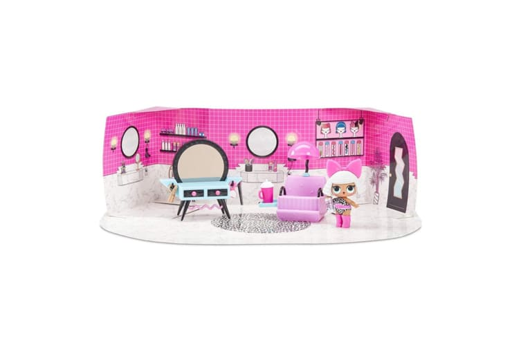2x LOL Surprise Furniture Beauty Salon Playset w/Diva/Shoes/Fashion/Bottle
