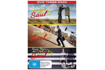 Better Call Saul Complete Seasons One Two and Three DVD Region 4