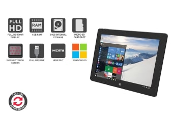 Refurbished Kogan Atlas Pro Tablet (4GB + 64GB, Windows 10)