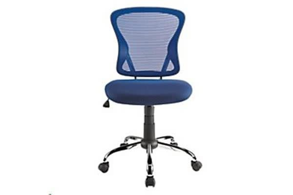 Brenton Chair Mid Back - Blue Mesh