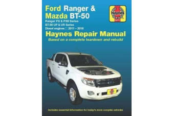 Ford Ranger / Mazda BT-50 Diesel 2011-2017 Haynes Repair Manual