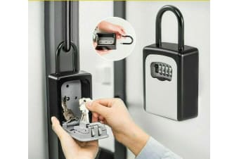 New Combination Lock Key Safe Storage Box Padlock Security Home Outdoor