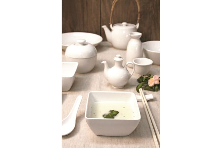 Royal Porcelain Chelsea Footed Rice & Noodle Bowl 10cm Set of 6