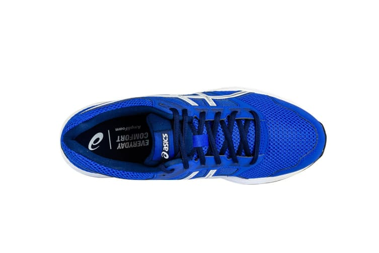 ASICS Men's GEL-Contend 5 Running Shoes (Imperial Blue/White, Size 10)