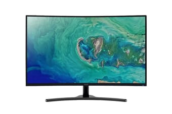 "Acer Gaming Free-Sync 31.5"" Curve 16:9 FHD 1920x1080 Monitor (ED322QRP)"