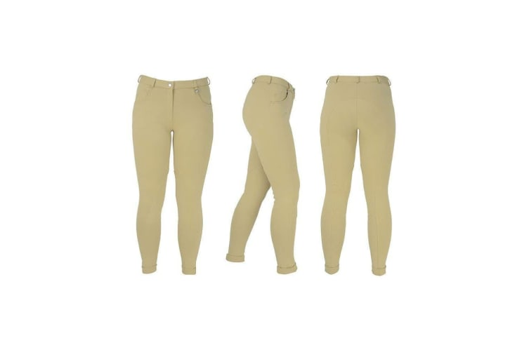 HyPERFORMANCE Childrens/Kids Burton Jodhpurs (Beige) (22in)