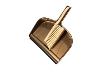 Groundsman Giant Dustpan and Brush (Gold)
