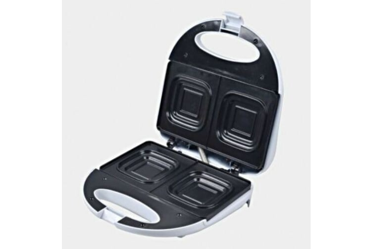 Deep Dish Sandwich Maker Press Toaster/Toast Nonstick square loaf bread 2 Slice