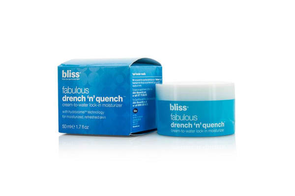 Bliss Fabulous Drench 'N' Quench Cream-To-Water Lock-In Moisturizer (50ml/1.7oz)