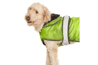 Danish Design Pet Products 2 In 1 Hi Vis Dog Coat (Hi Vis Yellow)