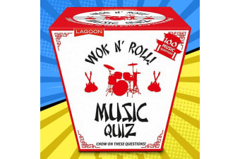 Wok `N Roll Novelty Gift Boxed Music Quiz
