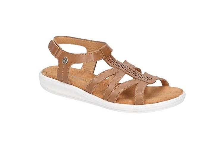 Hush Puppies Womens/Ladies Callie Touch Fastening Sandals (Tan) (7 UK)