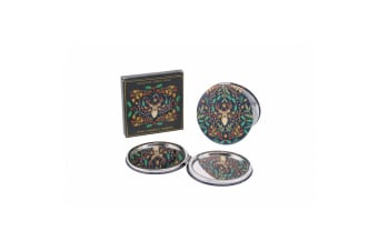 Seasons Greetings Stag Compact Mirror (Multicoloured) (One Size)