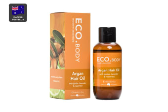 ECO. Certified Organic Argan Hair Oil (95mL)