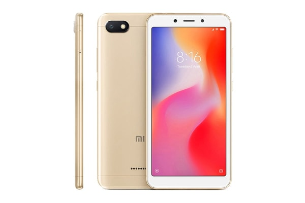 Xiaomi Redmi 6A (16GB, Gold)