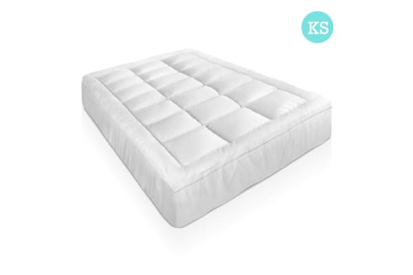 Duck Feather & Down Pillowtop Matress Topper (King/Single)